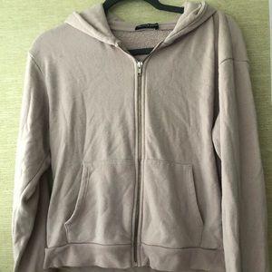 Light Pink Brandy Melville Zip up hoodie